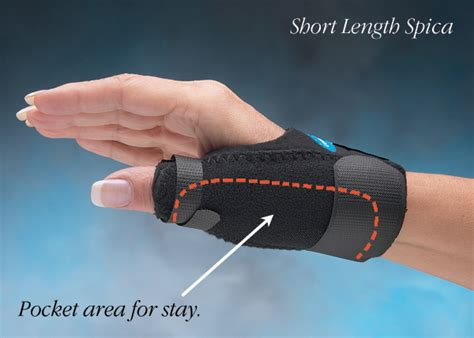 comfort cool hand brace comfort cool 174 thumb spica north coast medical