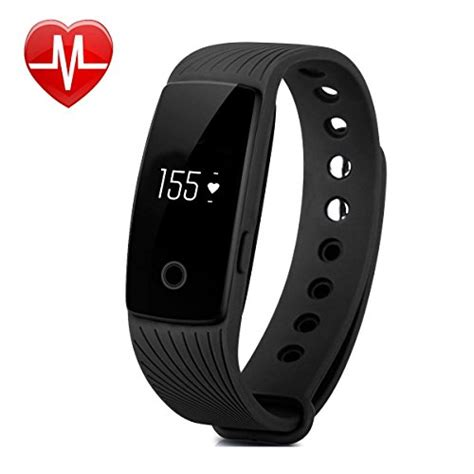 Willful SW321 Heart Rate Monitor Watch Fitness Tracker Wrist Pedometer Bracelet with Step