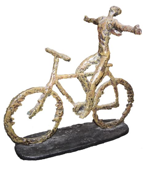 Bicycle Decorations Home by Bicycle Sculpture Decorative Objects And Figurines