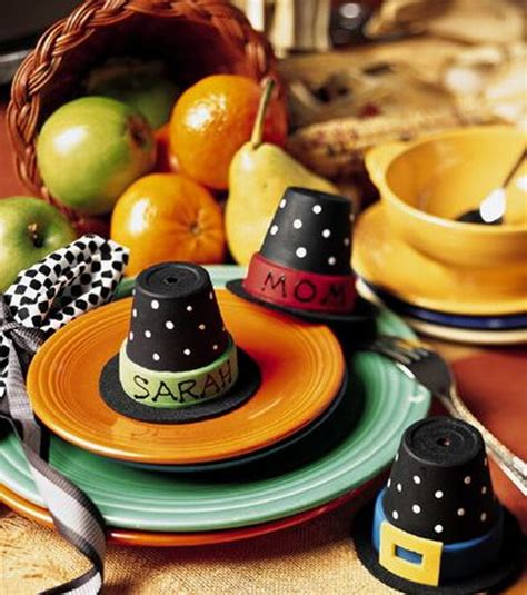 fun  creative thanksgiving place cards hative