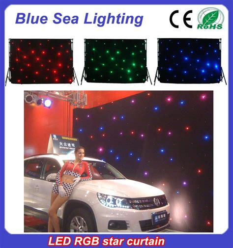 rgb led curtain christmas party light rgb led curtain with ce