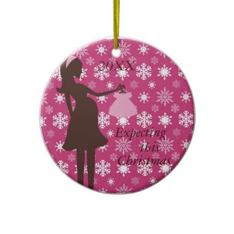 expecting this christmas pregnancy ornament