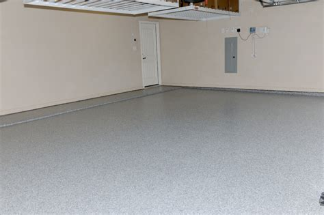 Garage Floor Coating Frisco Tx Frisco B 330 Custom Epoxy Chip Install