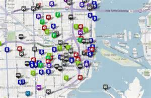 miami crime map showing crime statistics on an interactive map