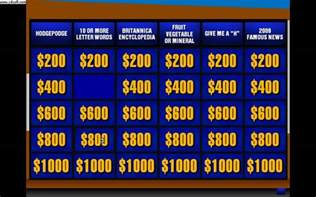 Jeopardy Powerpoint Templates powerpoint jeopardy template beepmunk