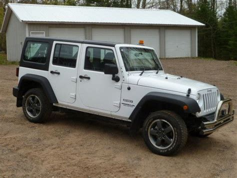 2012 Jeep Wrangler 4 Door For Sale Purchase Used 2012 Jeep Wrangler 4 Door Rhd 3 6l Right