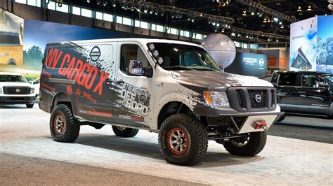 nissan cargo nissan nv cargo x is roader and support vehicle all in one