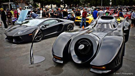 batman car lamborghini original batmobile vs lamborghini aventador