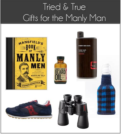 tried true gift guide for homebodies manly men