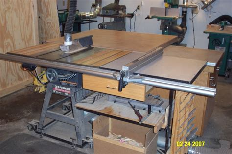 contractor table saw fence upgrade craftsman tablesaw fence woodworking woodworkers
