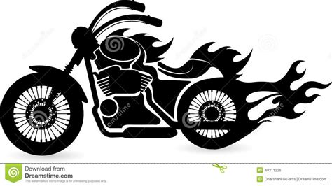 speed bike logo stock vector image 40311236