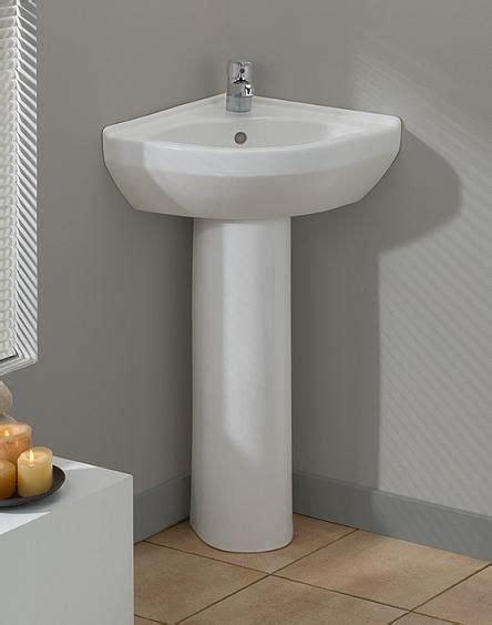 17 best ideas about corner pedestal sink on