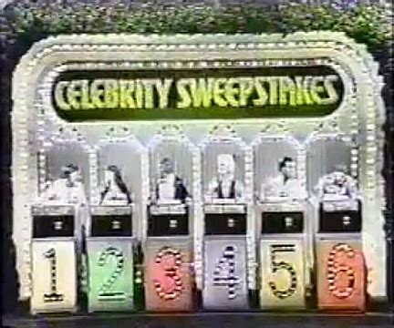 Celebrity Sweepstakes - 49 best images about game shows on pinterest dating games merv griffin and tvs