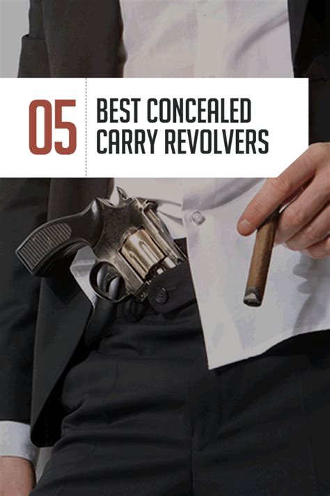 best ccw the best revolver for concealed carry top 5 handguns