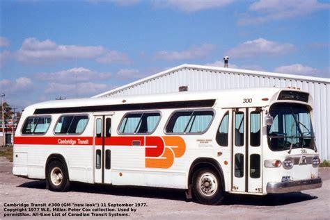 kitchener waterloo transit transit history of kitchener cambridge ontario