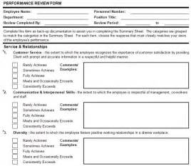 Exle Evaluation Essay by Performance Appraisal Form In Excel Format