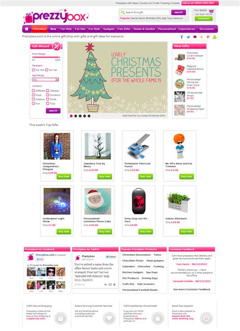 15 best christmas online shopping websites
