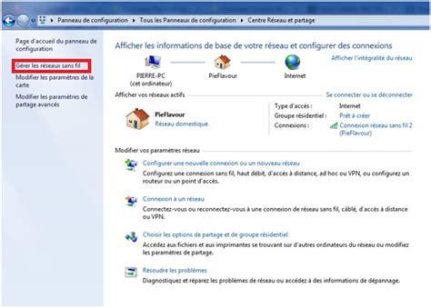 Les Sans Fil by Comment Supprimer Les Profils Sans Fil Windows 7 Answer