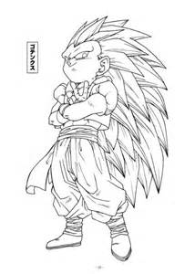 free dbz fusion coloring pages