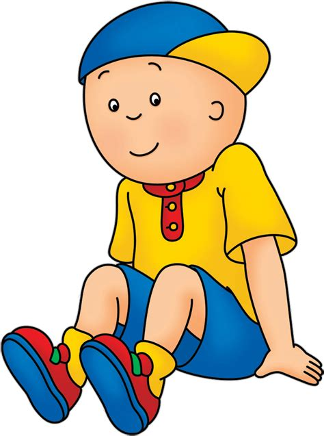 cartoon png cartoon characters caillou png pack revised
