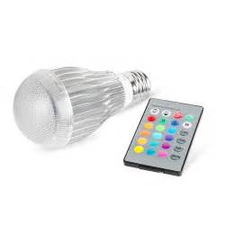 led color changing light bulb 16 colors changing 9w magic e27 rgb led l light bulb