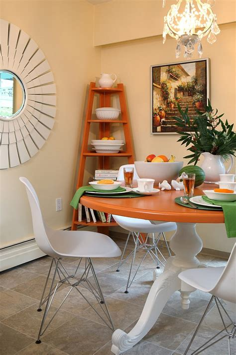 Dining Room Corner | dining room corner decorating ideas space saving solutions