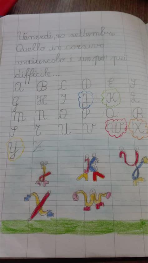 le lettere straniere classe seconda italiano ordine alfabetico con lettere