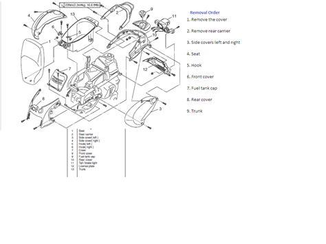 wiring diagram yamaha dt360 yamaha pw80 wiring diagram
