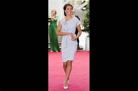 Princess Kate Wardrobe by Tania S Dress On Elie Tahari Wool Dress And