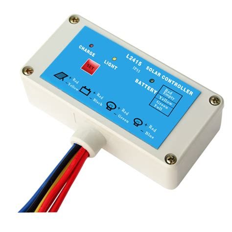Wellsee Ws L0606 6a 6 12v Waterproof Solar Garden Yard Solar Light Controller