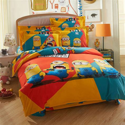 minion bed set queen king twin size ebeddingsets