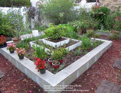 Raised Block Garden Beds - cinder block raised beds cinder block raised beds garden org