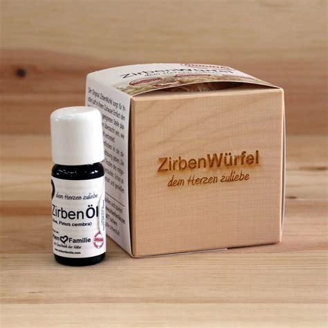 wohnkultur strantz zirbenw 252 rfel mit zirben 246 l zirbenholz produkte