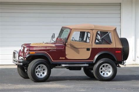 Jeep Cj For Sale In Florida Find Used Jeep Cj7 Golden Eagle In Fort Myers Florida