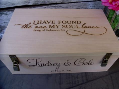 Wedding Wine Box Gift by Wine Box For Rustic Wedding Ceremony Or Gift For Two