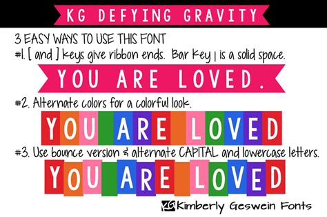 dafont gravity kg defying gravity font dafont com