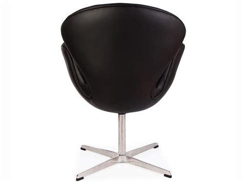 arne jacobsen sedie sedia swan arne jacobsen nero