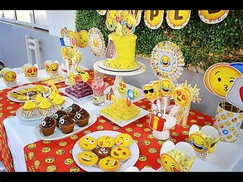 whatsapp themes party 20 ideas para fiesta de emojis emoticons party