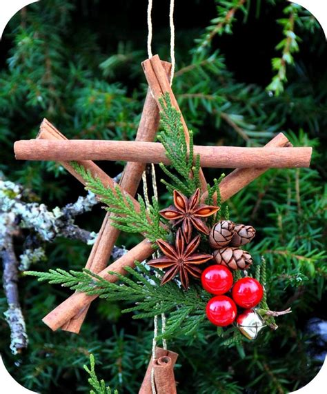 Cinnamon Stick Star Ornament