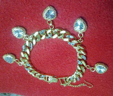 Jam Tangan Rtt pemborong emas sadur korea 24k banggle rantai tangan jam
