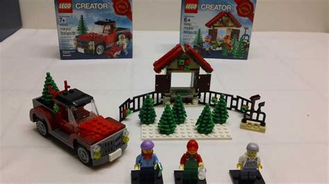 lego christmas 2013 limited edition sets review youtube