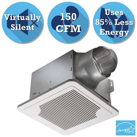 bathroom exhaust fan 150 cfm panasonic whisperceiling 150 cfm ceiling exhaust bath fan energy star fv 15vq5 the