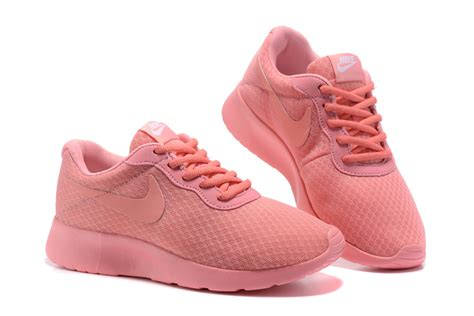 all pink running shoes summer wmns nike tanjun breathable running shoes all pink