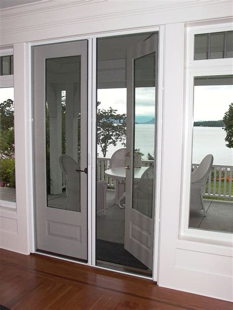 patio door with screen 25 best ideas about doors with screens on