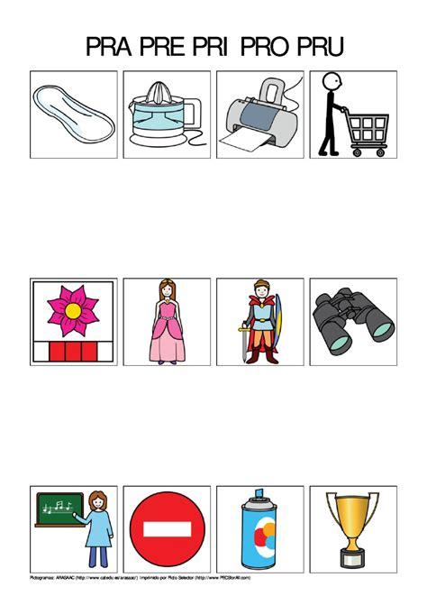 imagenes con palabras pra pre pri pro pru pra pre pri pro pru by logopedia creativa page 1 issuu