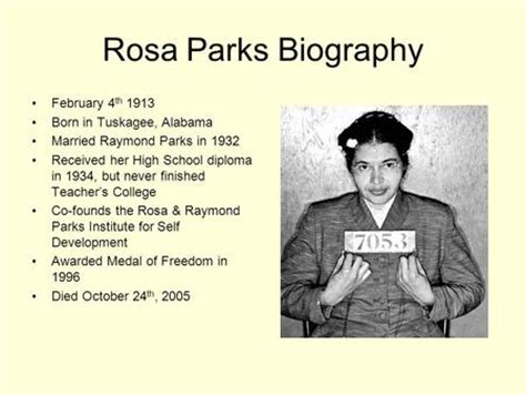 Rosa Parks Biography For Students | finding information and taking notes ppt video online