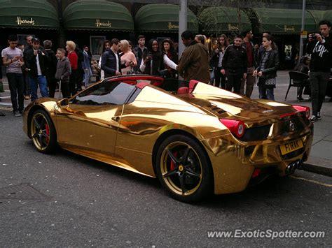 gold 458 italia gallery for gt gold 458 italia
