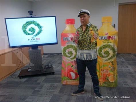 Teh Ichitan Indo ichitan masuk bisnis minuman di indonesia