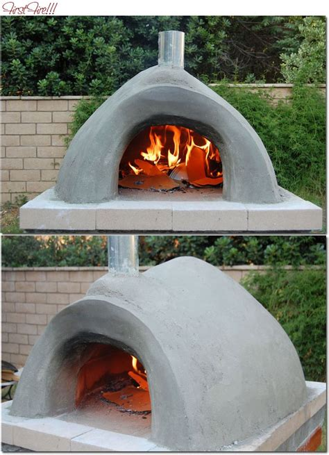 building a brick pizza oven candied fabrics outside
