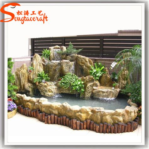 indoor artificial mini water decorative fountain and